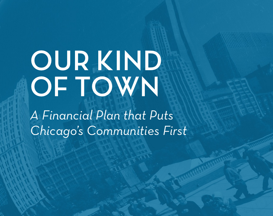 Refund America Project's Financial Plan for Chicago
