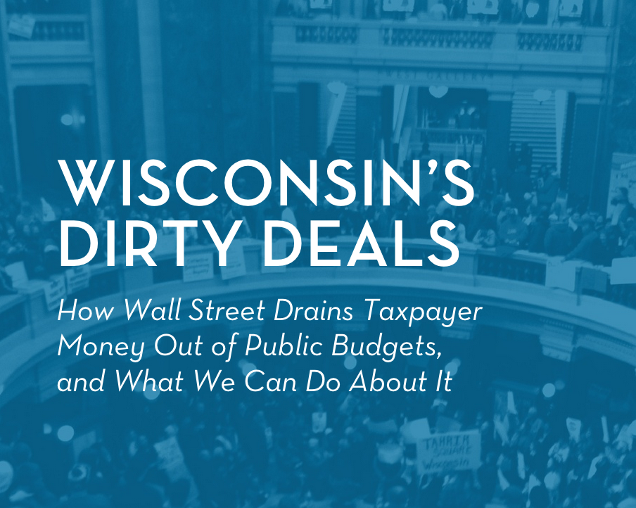 Exposing Wall Street's Predatory Behavior in Wisconsin